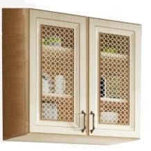 Augšējais virtuves skapītis WIPMEB Febe FE-06/G80W, smilškrāsas, 800x285x720 mm