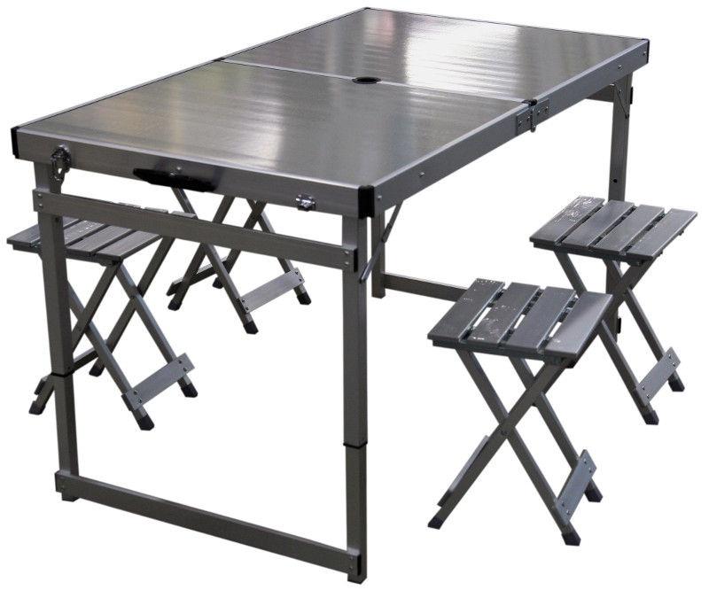 Turistinis stalo ir kėdžių rinkinys Besk