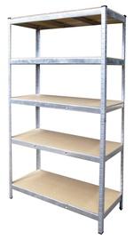Sandėliavimo lentyna Vagner SDH T21A, 120 x 45 x 180 cm, 5 lentynos