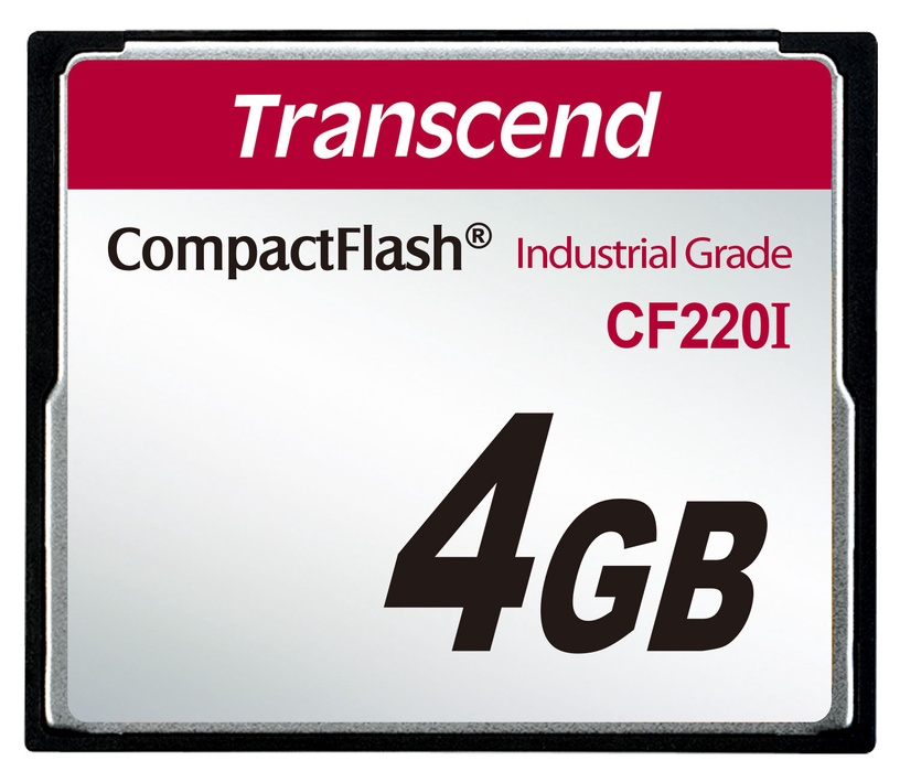 Transcend 4GB Industrial Temp CF220I CF Card