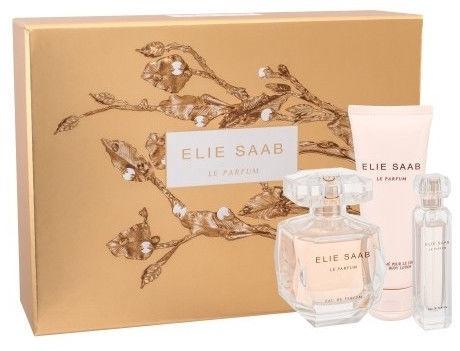 Elie Saab Le Parfum 90ml EDP + 75ml Body Lotion + 10ml EDP