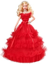 Mattel Barbie 2018 Holiday Doll Blonde FRN69