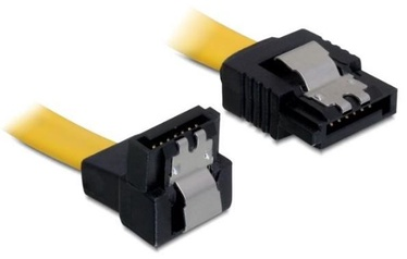 Delock Cable SATA to SATA Yellow 0.50m