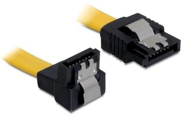 Delock Cable SATA to SATA Yellow 0.50m