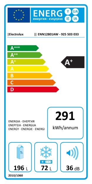 Iebūvējams ledusskapis Electrolux ENN12801AW
