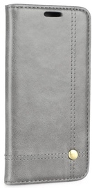 Mocco Smart Focus Book Case For Apple iPhone X Grey