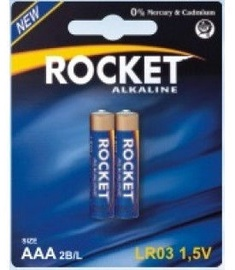 Rocket LR03-2BB AAA Batteries 2x