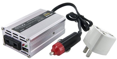Whitenergy Mini Power Inverter 12V DC To 230V AC USB 150W