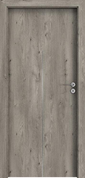 "Durų varčia ""Porta Line H1"" sibiro ąžuolo 744x2030x40 kairė"