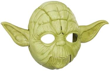 Maska Hasbro Star Wars Yoda Electronic Mask E0329, zaļa, 117 mm x 419 mm x 257 mm
