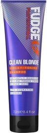 Fudge Clean Blonde Violet Toning Shampoo 250ml