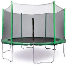 Tesoro Garden Trampoline 312cm Net/Ladder Green