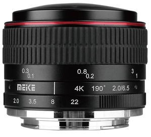 Meike Lens MK-6.5mm F2.0 Sony E-mount