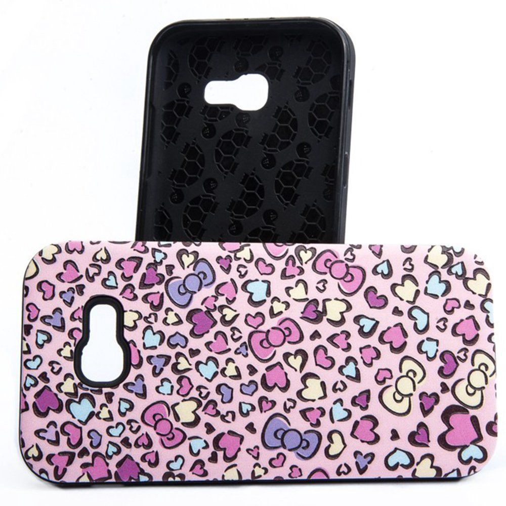 e062839b381 Mocco 3D Hearts Back Case For Samsung Galaxy A5 A520 Pink - Krauta.ee