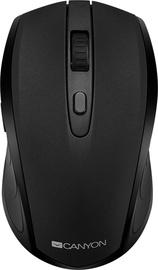 Kompiuterio pelė Canyon CNS-CMSW08 Black, bevielė, optinė