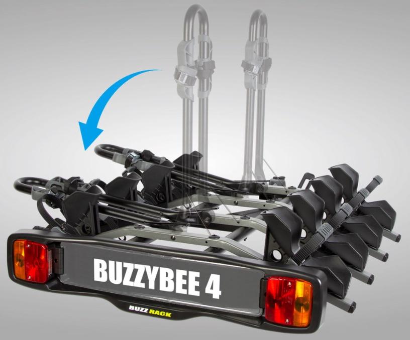 Велосипедный держатель для автомобилей BuzzRack New Buzzybee 4