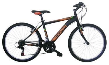 "Coppi Jaunty MTB 24"" Black Orange"
