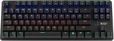 SilentiumPC SPCgear GK-530 RGB Tournament Mechanical Gaming Keyboard Kailh Red EN Black
