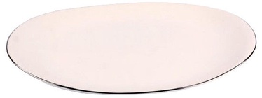 Quality Ceramic Sense Platinum Plate 33.5cm