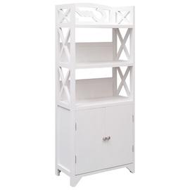 Шкаф для ванной VLX 284109, белый, 24 x 46 см x 116 см