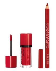 BOURJOIS Paris Rouge Edition Velvet 7.7ml 1 + Contour Lip Liner 1.14g 7