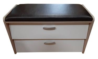 ML Meble PIK07N Shoe Cabinet White/Black