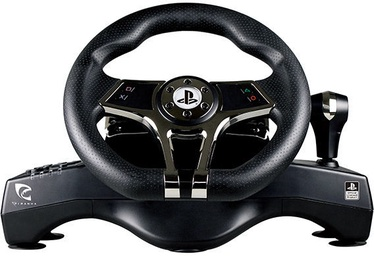 Piranha Speed-Racing Wheel w/Pedals and Gear Shift