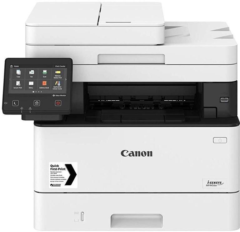 Daugiafunkcis spausdintuvas Canon MF445DW, lazerinis