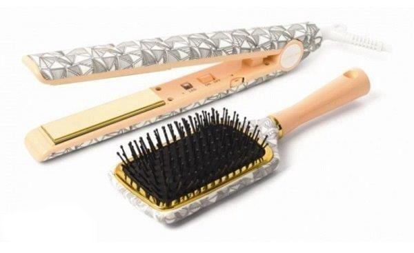 Corioliss C1 Hair Straightener Rose Gold Kit