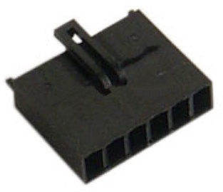 AC Ryan AUX 6Pin Female Connector Pure Black