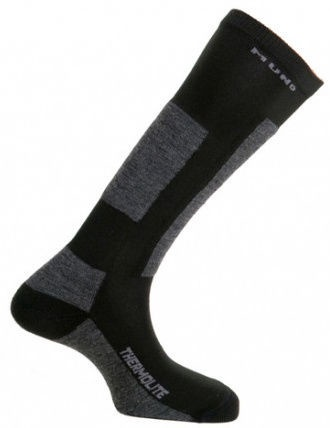 Носки Mund Socks Skiing Antibacterias Black, XL, 1 шт.