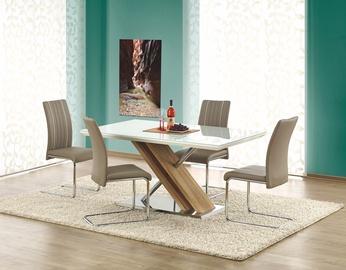 Pusdienu galds Halmar Nexus White/Sonoma Oak, 1600x900x760 mm