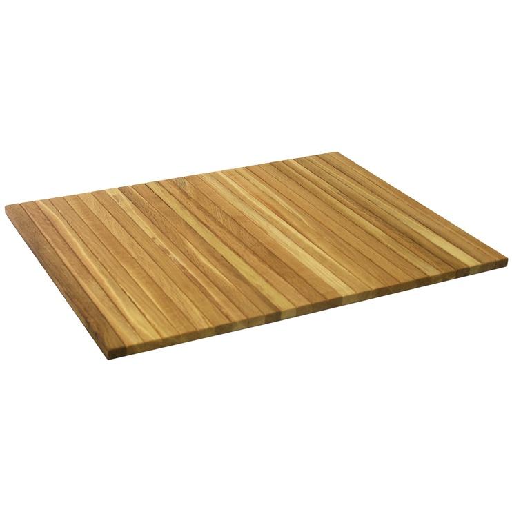 Home4you Mondeo Sofa Tray Plate 40x50cm Oak