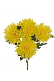 Букет искусственных цветов 80-310835, желтый
