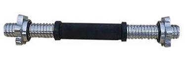 Hanteļu stienis ar fiksatoriem 35 cm