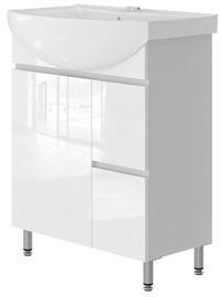 Vento Monika Bathroom Cabinet 65 White