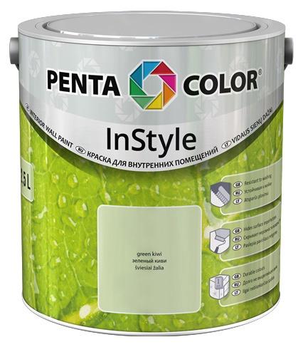 Krāsa Pentacolor in style 2,5l pasteļsalātu