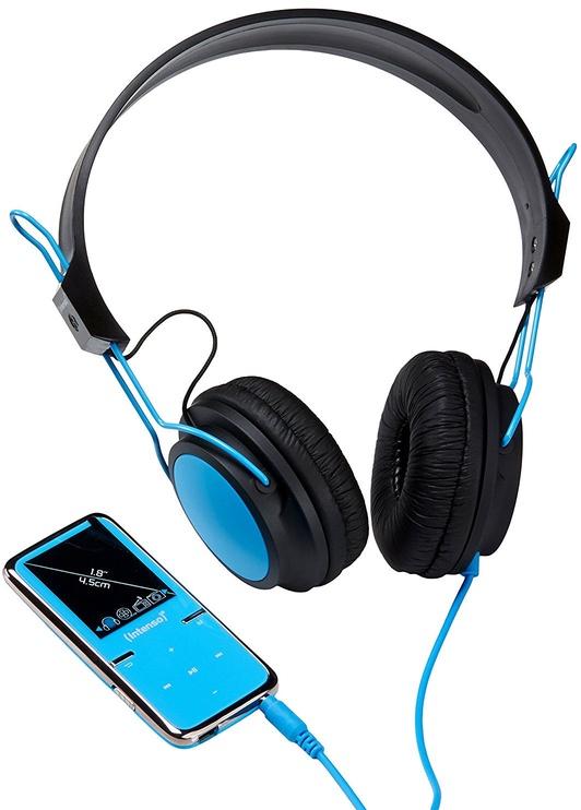 Музыкальный проигрыватель Intenso Video Scooter Special Edition, синий, 8 ГБ