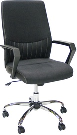 Home4you Office Chair Angelo Black 27945