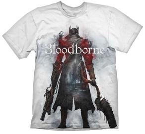 Gaya Entertainment T-Shirt Bloodborne Hunter Street White S