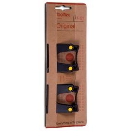 Laikikliai įrankiams Toolflex 502-1, 15 x 20 mm, 2 vnt.