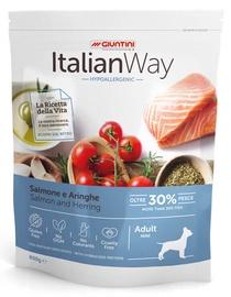 Italian Way Salmon & Herring Hypoallergenic Mini Adult 800gr