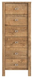 MN Country 46 Chest Of Drawers Brown