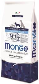 Monge Daily Line Medium Puppy and Junior Rich in Chicken 12kg