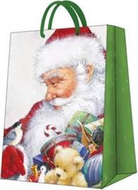 Paw Decor Collection Gift Bag Loving Santa 30x41x12cm