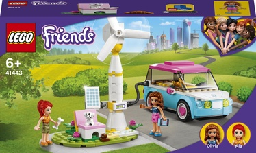 Конструктор LEGO Friends Электромобиль Оливии 41443, 183 шт.