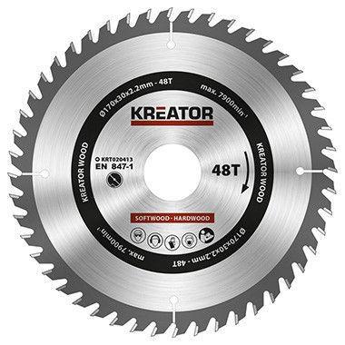 Kreator Sawblade 170x30x2.2mm 48T