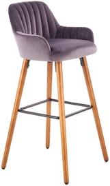 Bāra krēsls Halmar H93 Dark Grey, 1 gab.