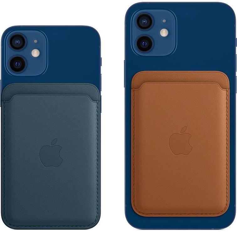 Кошелек Apple iPhone Leather Wallet with MagSafe, коричневый