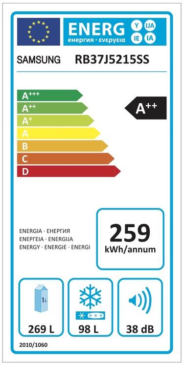 Šaldytuvas Samsung RB37J5215SS/EF